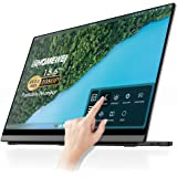 Touch Screen Portable Monitor,EHOMEWEI 15.6 Inches Full HD IPS 1920 x 1080 with Self-Standing,USB-C Portable Monitor For Macb