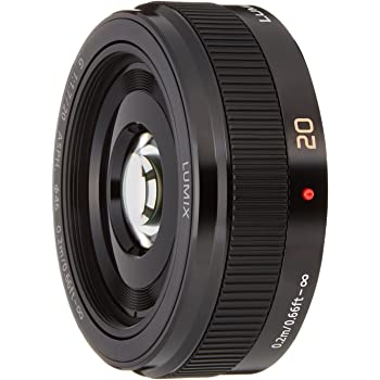 Panasonic 単焦点レンズ マイクロフォーサーズ用 ルミックス G 20mm/F1.7 II ASPH. ブラック H-H020A-K