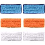 Replacement 6 Packs Washable Mopping Pads Wet Damp Dry Sweeping Pads for iRobot Braava Jet 240 241