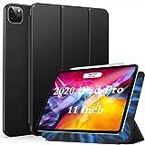 Ztotop iPad Pro 11 2020 ケース 磁気吸着式 極薄軽量 3つ折りスタンド オートスリープ機能 2020春発売のiPad Pro 11に対応スマートカバー(ブラック)