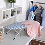 Honey-Can-Do BRD-01292 Folding Tabletop Ironing Board w/Iron Rest