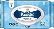 KLEENEX Flushable Fresh Wipes Fragrance Free, Pack of 42 Wipes