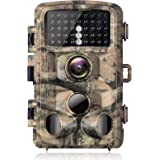 【2020 Upgrade】Campark Trail Camera-Waterproof 16MP 1080P Game Hunting Scouting Cam with 3 Infrared Sensors for Wildlife Monit