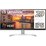 LG モニター ディスプレイ 29WN600-W 29インチ/ウルトラワイド(2560×1080)/IPS 非光沢/HDR対応/HDMI×2、DisplayPort/スピーカー搭載