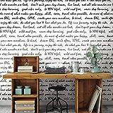 RoomMates RMK9006WP Dream Big Script Peel and Stick Wallpaper, RMK9005WP