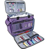 ProCase Sewing Machine Tote Bag, Universal Carrying Case for Most Standard Size Sewing Machine Brother, Singer and Janome, wi