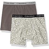 Calvin Klein Boys Modern Cotton Assorted Boxer Briefs Underwear, Multipack Boxer Briefs - Multi - X-Small