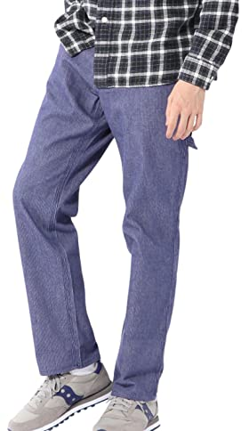 Smith's American Bedford Cord Painter Pants 7540-636-5046: Cobalt