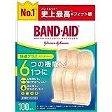 BAND-AID(バンドエイド) 救急絆創膏 快適プラス スタンダード 100枚