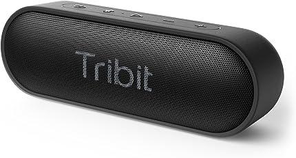 Tribit Bluetooth スピーカー (12W Bluetooth4.2 24時間連続再生) 低音強化/IPX7防水/デュアルドライバー