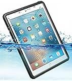 iPad mini4 完全 防水ケース 耐震 防雪 防塵 耐衝撃 カバー 全面保護 IP68防水規格 アイパッドケース アイパッドカバー 防水カバー 耐衝撃カバー 薄型 mini 4 アイパッド ストラップ付き お風呂 アウトドア A1538 / A1550 (iPad mini4用)