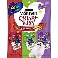モンプチ 猫用おやつ クリスピーキッス バラエティパック リッチセレクト 90g (3g×30袋)