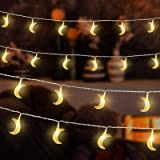 Gzero 40 LED Original Moon Mini String Lights For Patio Garden Holiday Gardens, Homes, Wedding, Mother's Day Party and Holida
