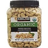 KIRKLAND (カークランド) シグネチャー 有機 無塩カシューナッツ 1.13kg