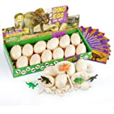 Dodosky Dig Up Dinosaur Fossil Eggs, Dinosaur Eggs Excavation Easter Toys for 5 6 7 8 9 10 11 12 13 Year Old Kids Gifts for 6