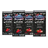 Pedialyte AdvancedCare Plus Electrolyte Powder Strawberry Freeze and Berry Frost with 33% More Electrolytes and has PreActiv