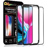 OAproda iPhone 11 Pro/iPhone XS/X ガラスフィルム 液晶保護強化ガラス【ガイド枠付き/全…