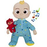 CoComelon Musical Bedtime JJ Doll, with a Soft, Plush Tummy and Roto Head – Press Tummy and JJ sings 'Yes, Yes, Bedtime Song,