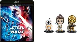 【Amazon.co.jp限定】スター・ウォーズ/スカイウォーカーの夜明け MovieNEX(SWブラック・パッケージ、アウターケース付き)(HOTTOYSコラボレーション企画 オリジナルコスベイビー付き<REY,C-3PO,BB-8>) [ブルーレイ+DVD+デジタルコピー+MovieNEXワールド] [Blu-ray]