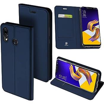 479fc42a2a ZenFone 5Z ケース Zenfone 5 ケース 手帳型 マグネット スタンド機能 カード収納付き 高級PU