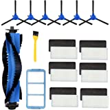Wigbow Accessories Kit Compatible with eufy RoboVac 11S, RoboVac 30, RoboVac 30C, RoboVac 15C, Accessory Robotic Vacuum 6 Cle