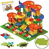 WYSWYG ビーズコースター 知育玩具 178ピース ボール転がし 子供おもちゃ 組み立てブロック積み木 早期学習&創造力 立体パズル 男の子 女の子プレゼント 6歳以上の子供に適用