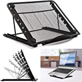 Adjustable Laptop Stand Foldable Tablet Laptop Stand Holder Portable Ventilated Universal Lightweight Ergonomic Tray Cooling