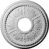 Ekena Millwork CM13TI 13 7/8-Inch OD x 3 3/4-Inch ID x 1 1/4-Inch Tirana Ceiling Medallion