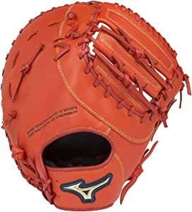 ミズノ(MIZUNO) ソフトボール用 セレクトナイン 捕手・一塁手兼用 1AJCS16600 52 スプレンディッドオレンジ 右投用