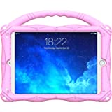Kids Case for ipad Mini 5/4/3/2/1,Geageaus Lightweight and Full-Body Shockproof Silicone Case Cover with Built-in Foldable Ki