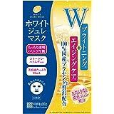 プラセホワイター ホワイトジュレマスク 4枚入【Amazon.co.jp限定】 日本製