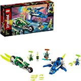 LEGO NINJAGO Jay and Lloyd's Velocity Racers 71709 Building Kit for Kids and Hot Toys