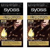 【Amazon.co.jp限定】 サイオス オレオクリーム 白髪染め 5N ココアブラウン 2個パックおまけ付き [医薬部外品] セット (50g+50g)×2+おまけ付き (おうちで手に入るサロン品質)