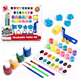 TBC The Best Crafts Washable Paint Set for Kids, Big and Rich Paint Set, Early Learning Art Supplies