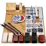 fieldlabo わくわく 始める 篆刻 入門 コンプリート セット 印材 刀 印床 石材 その他