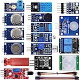 KOOKYE 16 in 1 Smart Home Sensor Modules Kit for Arduino Raspberry Pi DIY Professional (Smart Home Kit)