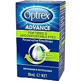 Optrex Advance Preservative Free Tired Eye Drops, 10ml
