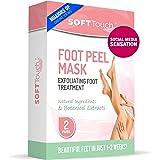 Foot Peel Mask – 2 Pack of Peeling Booties – Natural Foot Care Exfoliating Treatment Repairs ed Heels, Calluses & Removes Dea