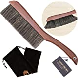 KERUIDENG Counter Duster Dusting Brush for Home Cleaning Soft Dust Brush with Long Wooden Handle for Home Hotel Office Car 15