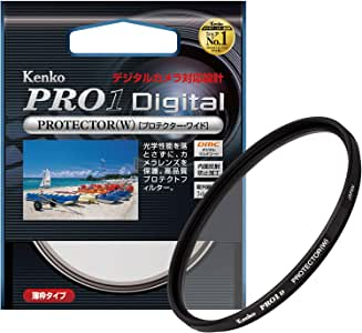 Kenko 52mm レンズフィルター PRO1D プロテクター レンズ保護用 薄枠 日本製 252512