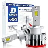【HIDを超えるLED】SUPAREE 車検対応 d2s d2r ledヘッドライト 6500K 16000lm 35W 純正交換用 LED化 バルブ 加工不要