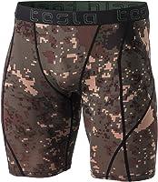 (テスラ)TESLA メンズ オールシーズン ショート スポーツタイツ [UVカット・吸汗速乾] コンプレッションウェア パワーストレッチ アンダーウェア MUS BSP