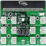 S-Union Ethereum ETH ZEC Mining GPU 1200w/750w PSU Breakout Board 12V for DPS-1200FB DPS-1200QB PS-2751-5Q HSTSN-PL12 DPS-700