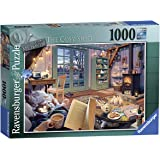 Ravensburger The Cosy Shed 1000 Piece Jigsaw Puzzle for Adults - Every Piece is Unique, Softclick Technology Means Pieces Fit