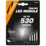 LiteXpress LXB530 LED Upgrade Module 530 Lumen for 3-6 C/D-Cell Maglite Torches
