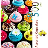500ピース ジグソーパズル パズル カップケーキ Cupcakes mini Puzzle fishwisdom Age 8+ (520 x 380mm)
