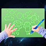 Light Drawing Board for Kids, ELICE A5 Light Drawing Pad Draw with Light, Magic Pad Light up Drawing Pad for Kids with Magic
