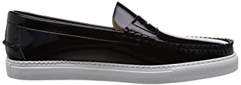 Daniele Lepori Patent Leather Loafer 115-43-0849: Black