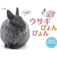 カレンダー2021 ウサギぴょんぴょん(月めくり・壁掛け) (ヤマケイカレンダー2021)