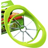 Apple Slicer Ultra-Sharp Stainless Steel 8-Blades with Ergonomic Anti-Slip Handle Apple Cutter